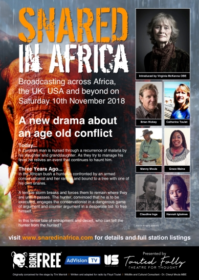 SNARED in Africa Poster
